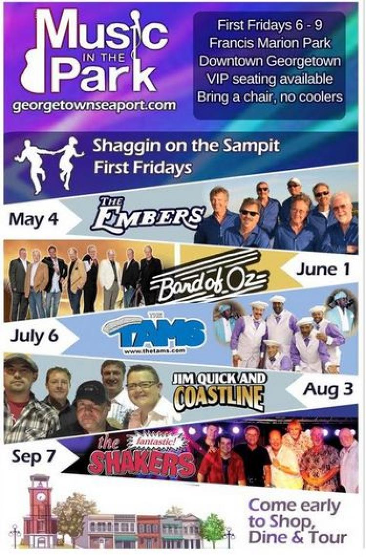 Music in the Park - Downtown Georgetown