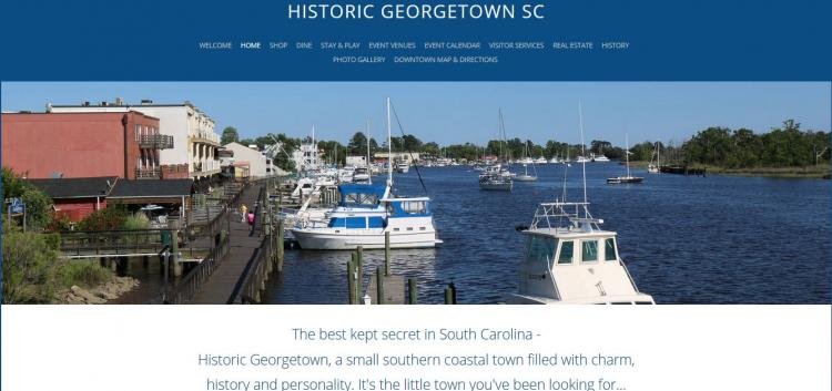 See What's Going on in Georgetown!  Open and Click on Web Link to view calendar