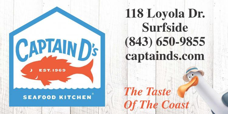 Every Weds & Sun Senior Day at Captain D's Surfside - Meals starting at $5.99