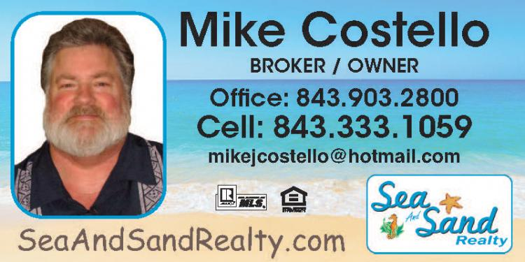 FREE Market Analysis - Mike Costello Sea and Sand Realty 4.5% Com. or Less