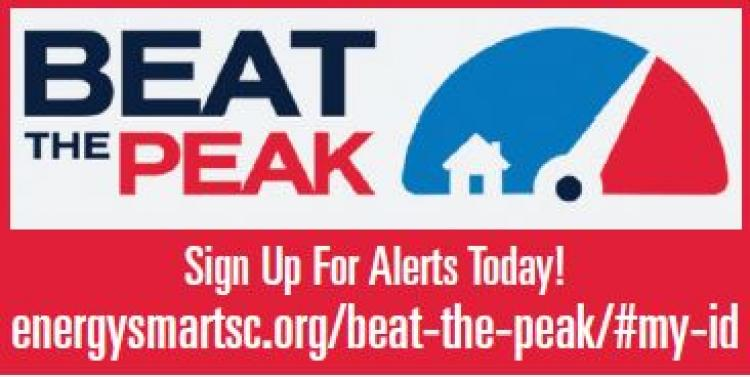 Horry Electric Cooperative reminds you to Sign Up for Beat the Peak and Save $