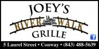 Joey's Riverwalk Grille- TEMPORARILY CLOSED