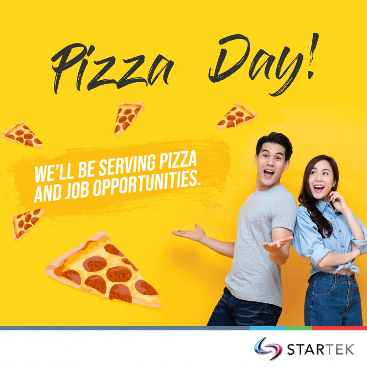Startek Lunch Day- Free Pizza Hiring Event