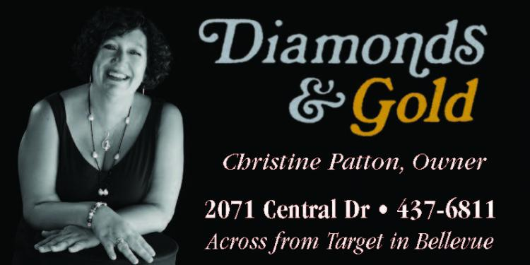 Diamonds & Gold $5 OFF Jewelry Repair, Ring Sizing, or Watch Battery Replacement