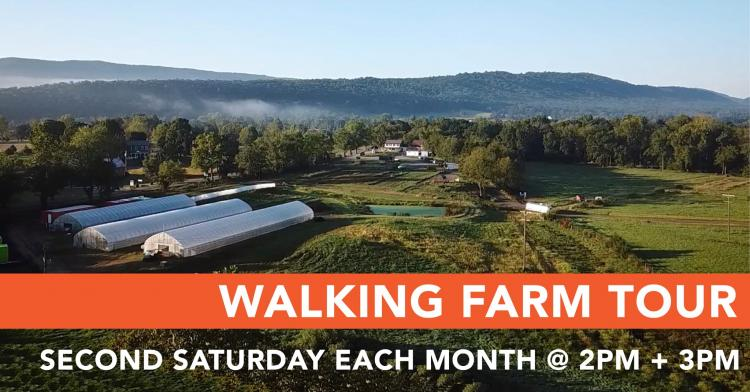 Walking Farm Tour