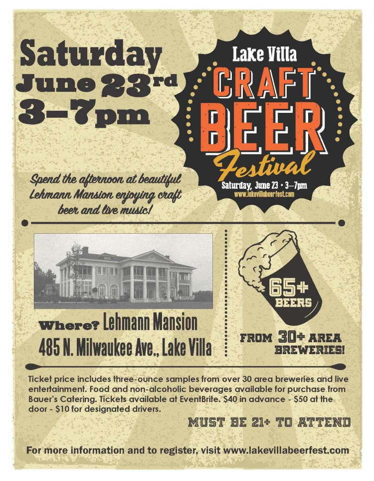 Lake Villa Craft Beer Festival