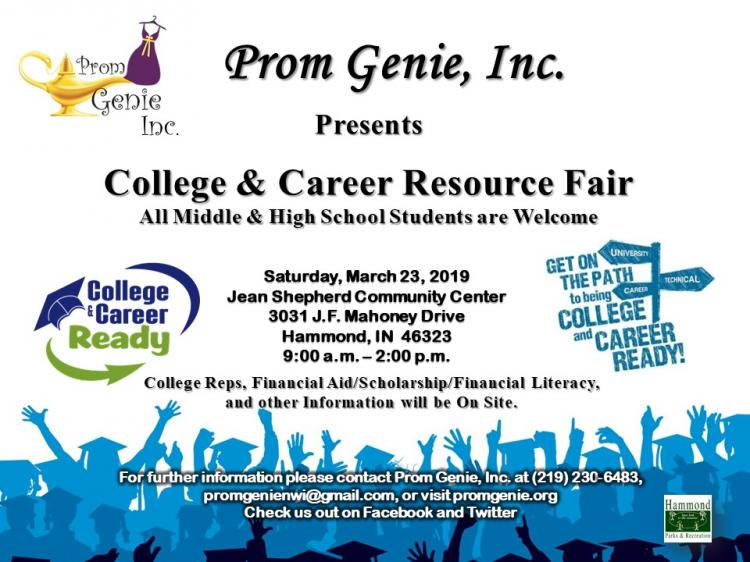 Prom Genie, Inc. College and Career Resource Fair