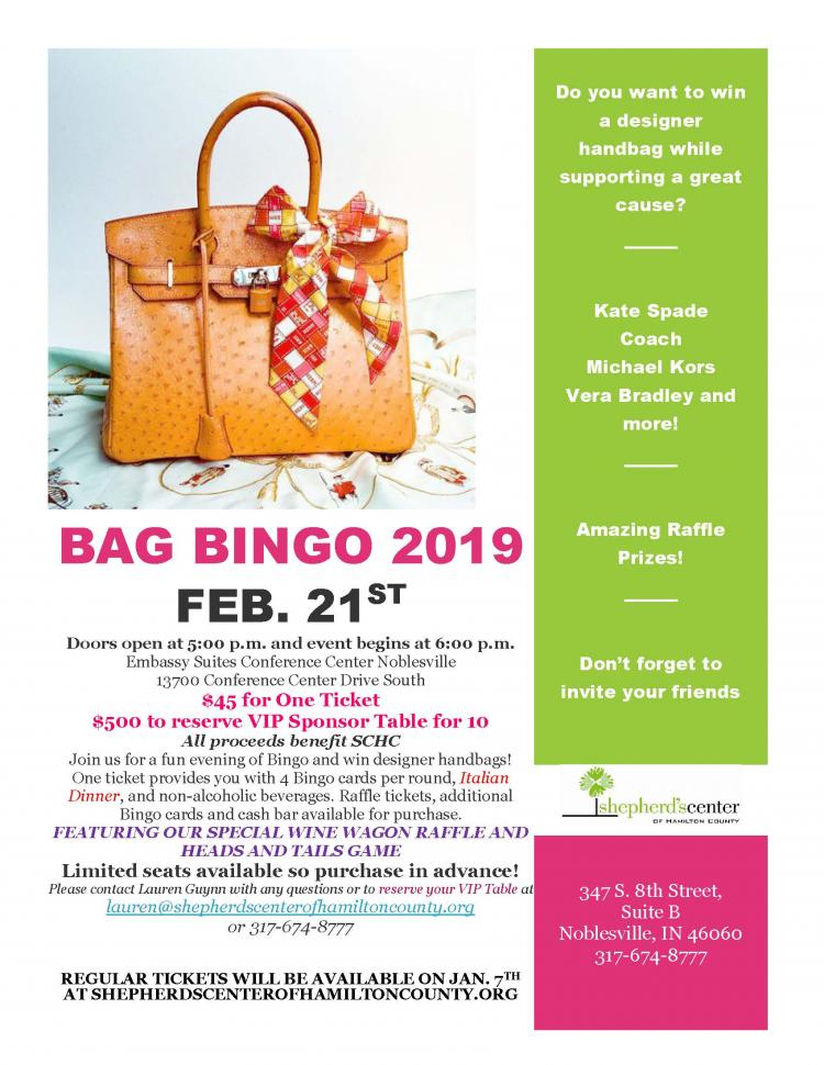 Bag Bingo - Sold Out!