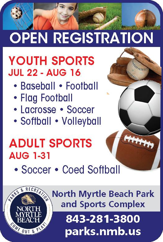City of NMB Youth Fall Sports Reg. 7/22-8/16