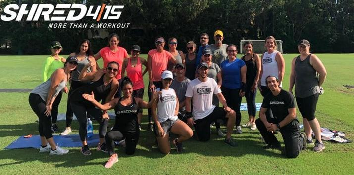 FREE Shred415 HIIT Outdoor Workout