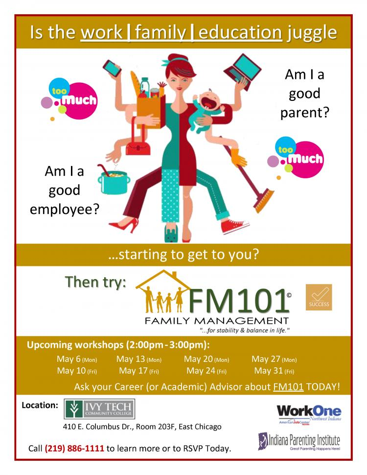 FM101 (for Work-Family Life Balance)