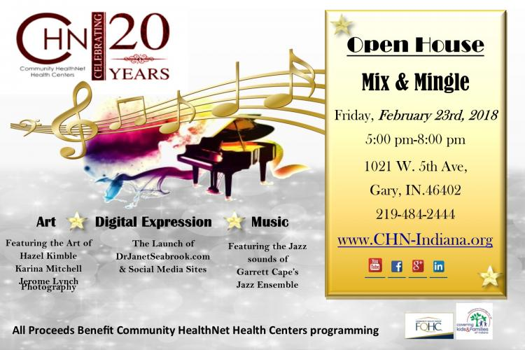 Community HealthNet Health Centers Open House Mix & Mingle