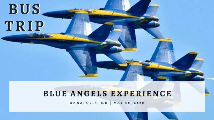 BUS TRIP: Blue Angels Experience 5/20
