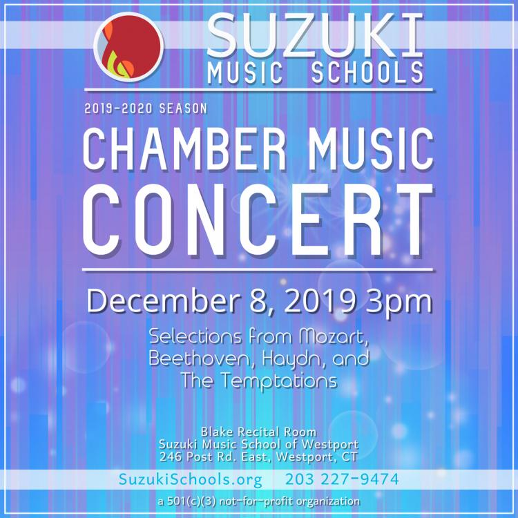 Chamber Music Concert at Suzuki Music School of Westport