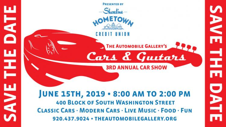 Cars & Guitars - The Automobile Gallery's 3rd Annual Car Show