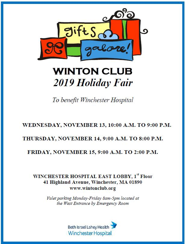 The Winton Club Gift Shop Holiday Fair