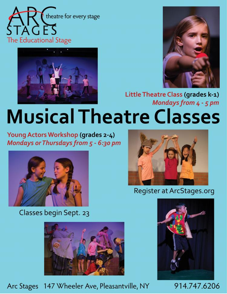 Arc Stages Theatre Classes for All Ages