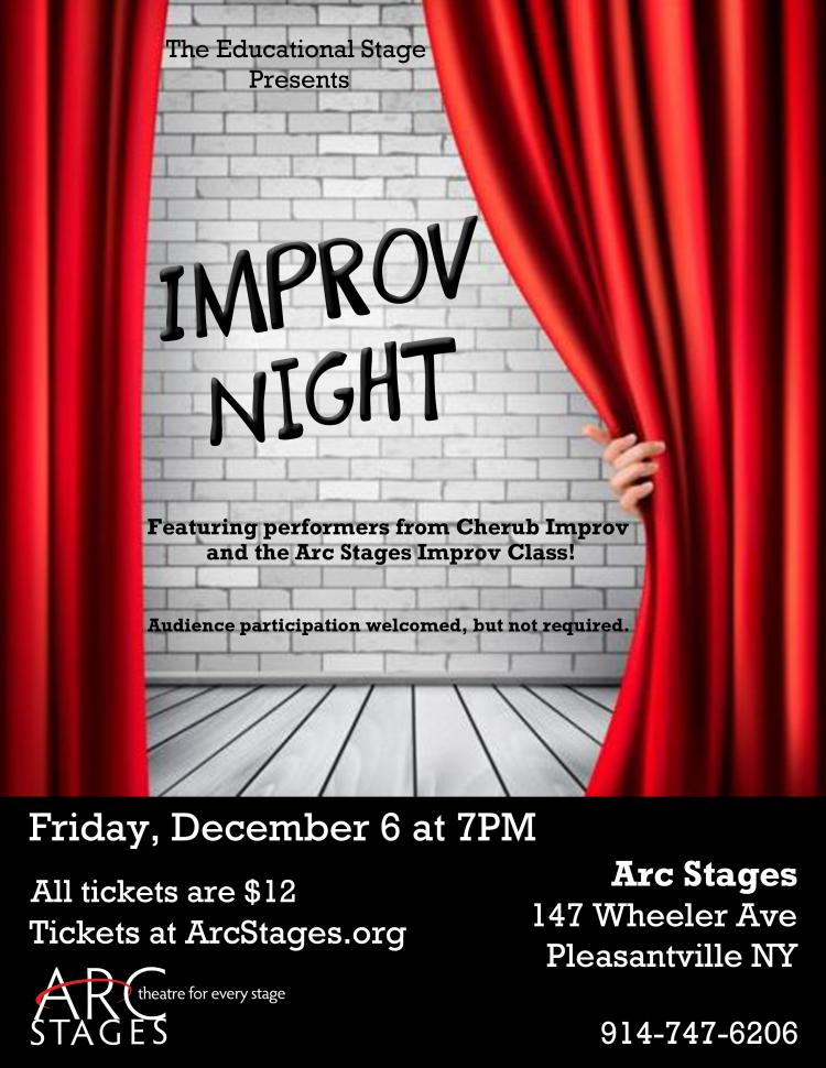 Improv Night for the whole family at Arc Stages