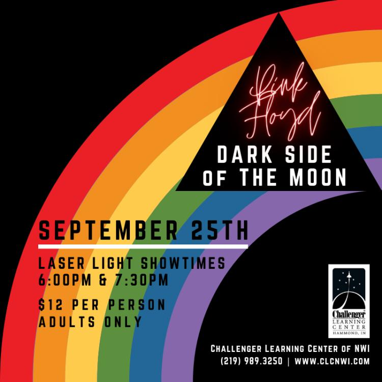Pink Dloyd's Dark Side of the Moon Laser Show