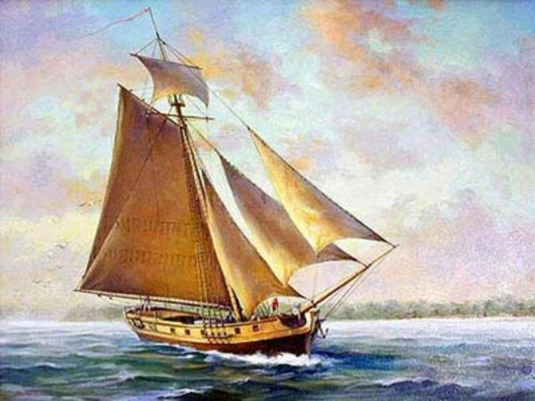 The Sally: The Adventures of a Norwalk Sloop During the American Revolution