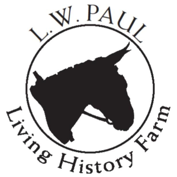 Gathering Tobacco at the L.W. Paul Living History Farm
