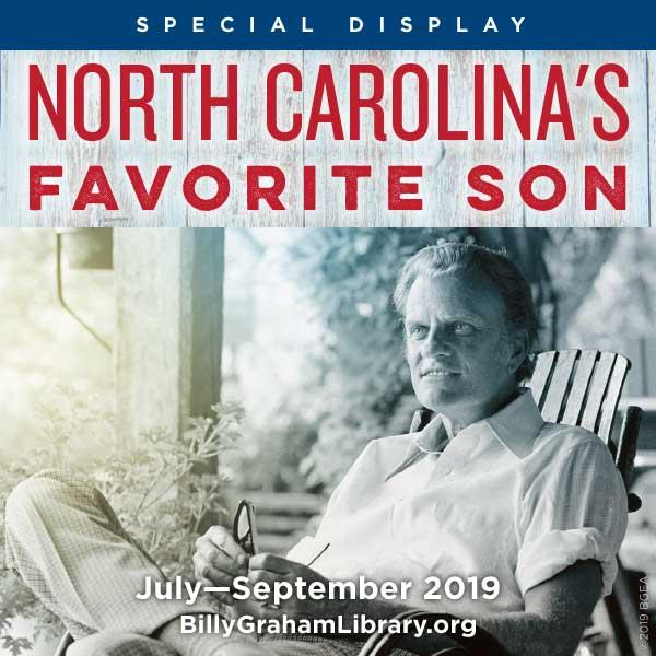 Special Display: North Carolina's Favorite Son