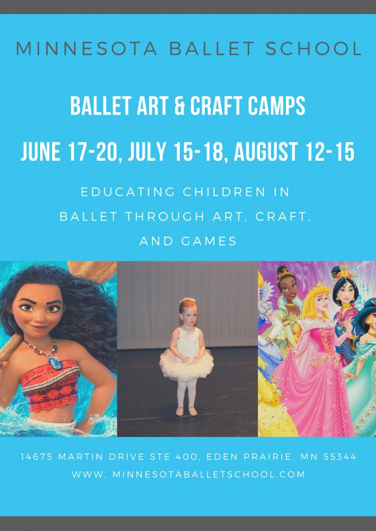Ballet Art and Craft Camps