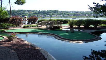Water Golf at City Island OPEN and RELAXING play thru Oct 15
