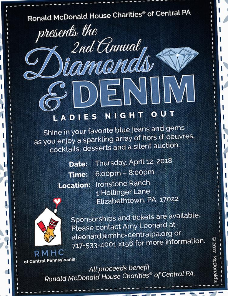2nd Annual Diamonds & Denim Ladies Night Out