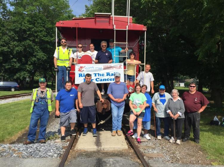 10th annual RIde the Rails for Cancer