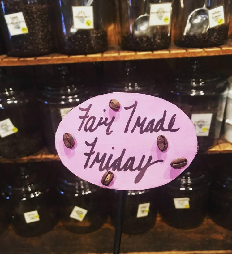 #FairTradeFriday every FRIDAY at St Thomas Roasters