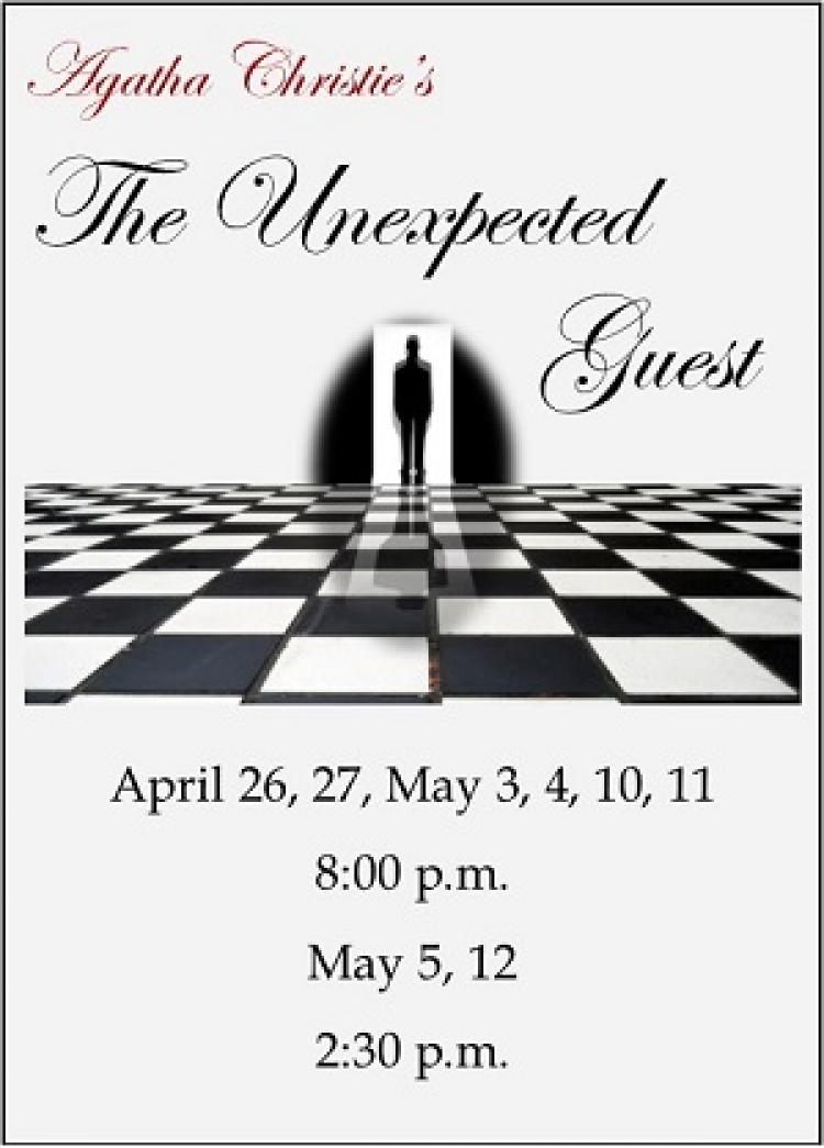 The Unexpected Guest at Little Theatre of Mechanicsburg Thru May 12
