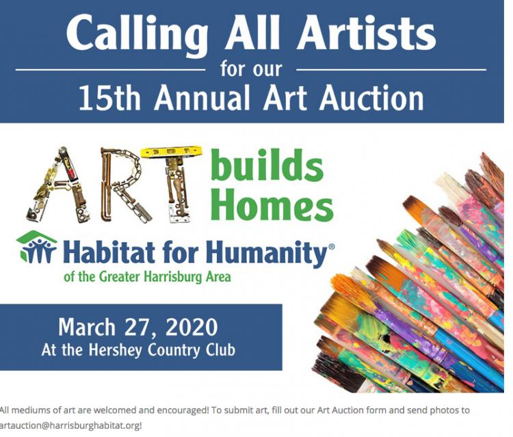 15th Annual Art Auction benefiting Habitat for Humanity-Greater Harrisburg Area