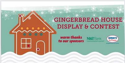 Gingerbread House Display thru Jan 7