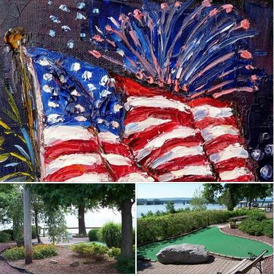 WE ARE OPEN everyday Water Golf at City Island