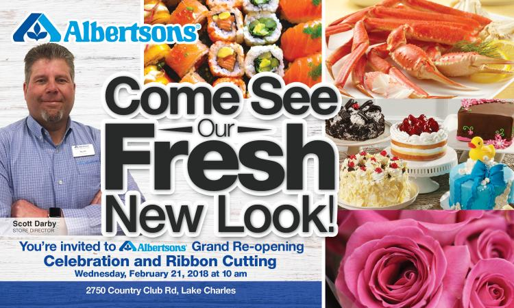 Albertsons Grand Re-opening