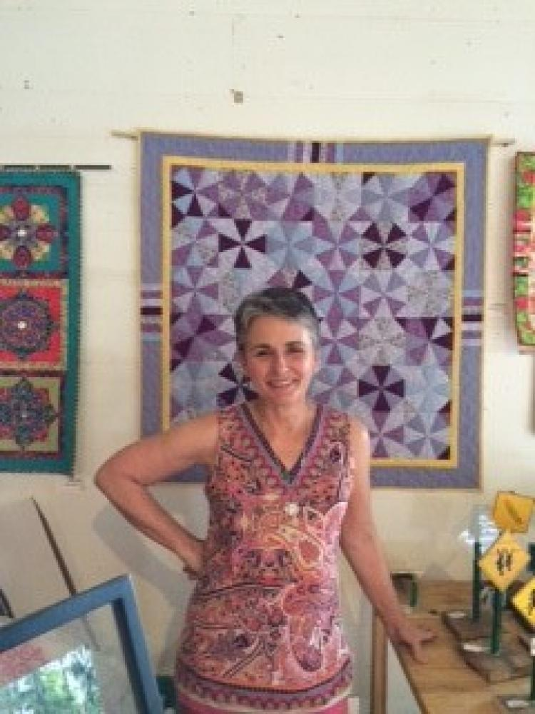 Teche Center for the Arts:  Solo Exhibit of Carole Gauthier Lancon Quilts