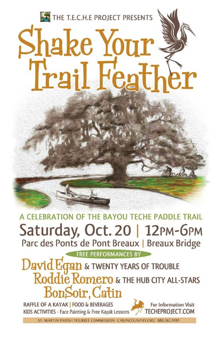 TECHE Project: Shake Your Trail Feather Festival