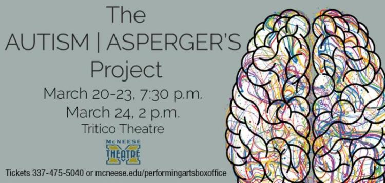 McNeese Theatre:  The Autism/Asperger's Project