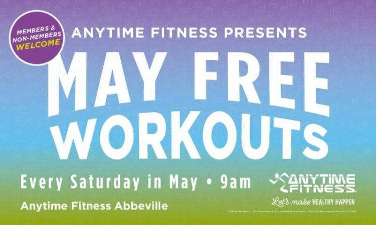 Anytime Fitness: Free May Workouts