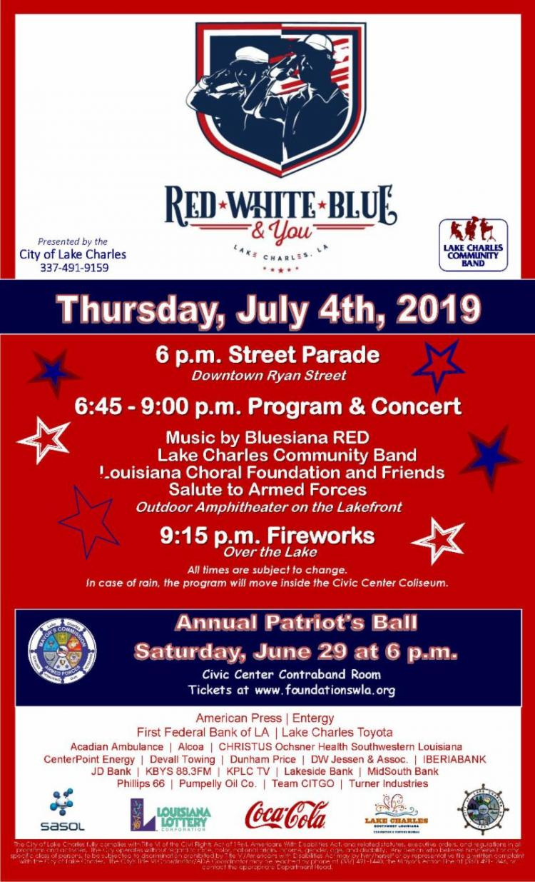Red, White, Blue & You! Celebration