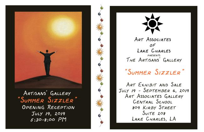 The Artisan's Gallery Summer Sizzler