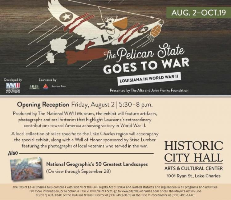 The Pelican State Goes to War WWII Exhibit