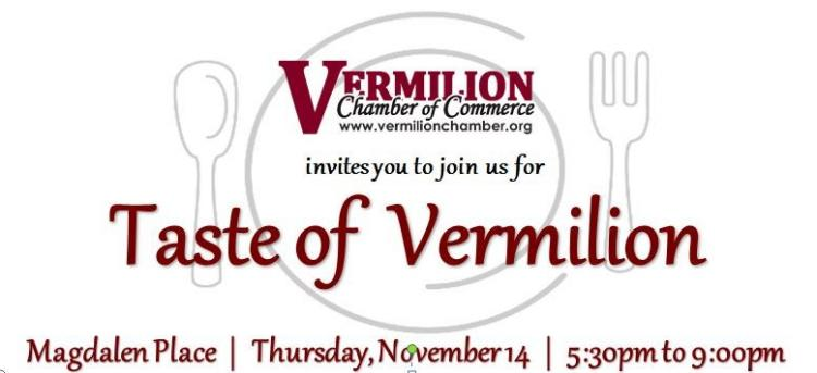 Taste of Vermilion