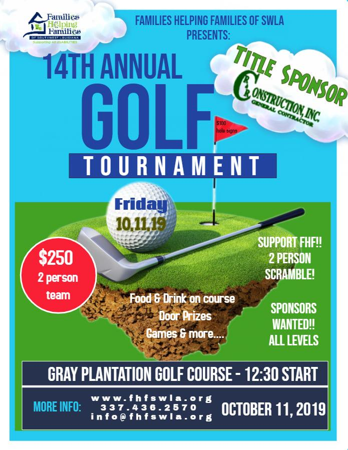 Fore for Families Golf Tournament
