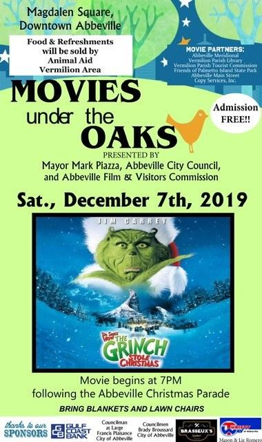 Movies under the Oaks: The Grinch