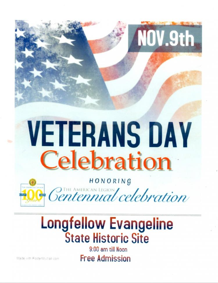St. Martinville Veterans Day Celebration