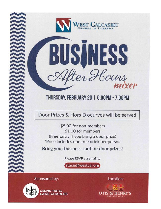 West Cal Business After Hours