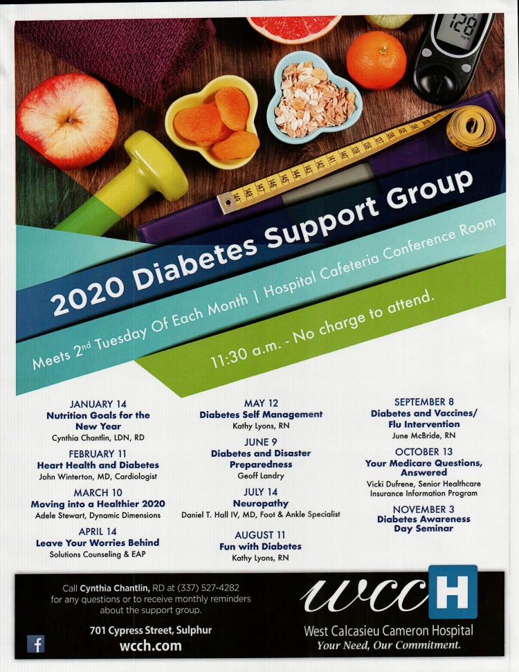 WCCH Diabetes Support Group