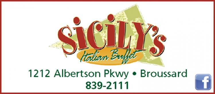 SICILY'S:  Full Menu being Served Up!